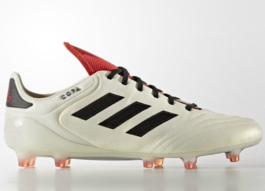 separation shoes 87d44 94820 Adidas Copa 17.1 Champagne Firm Ground Boots - Off White  Core Black  Red