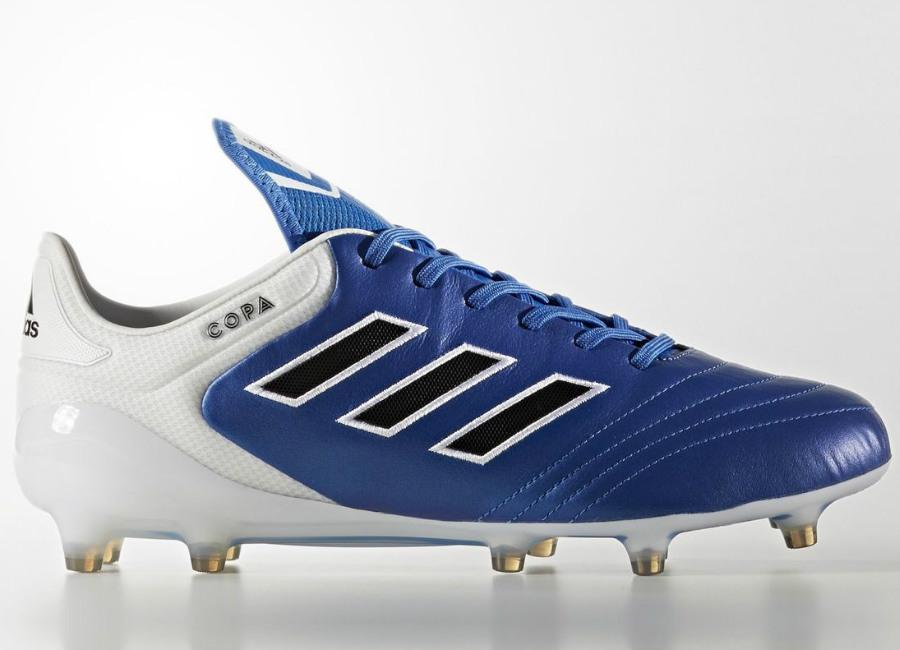 Adidas Copa 17 1 Firm Ground Boots Blue Blast Blue Core Black Footwear White