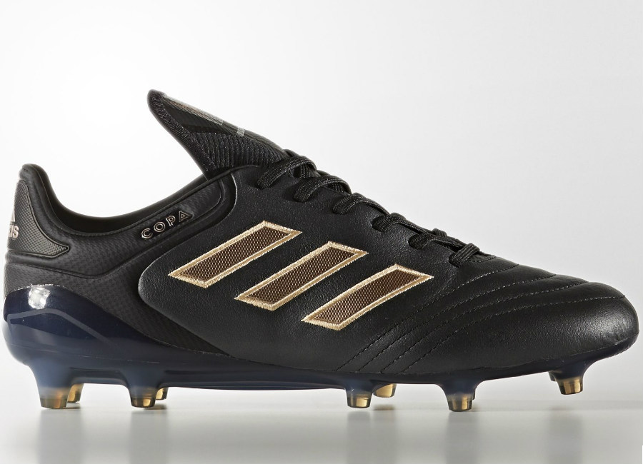 9a60dcc94834 ... Adidas Copa 17.1 Turbocharge Firm Ground Boots - Core Black Copper  Metallic.