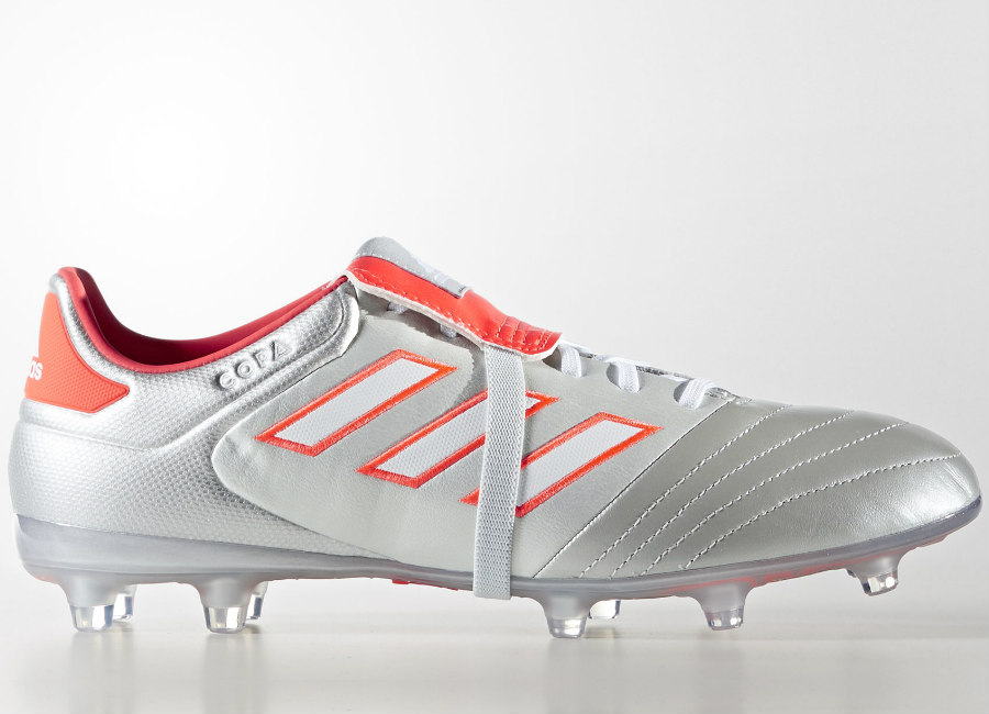 Adidas Copa Gloro 17 2 Fg Silver Metalic Footwear White Solar Red