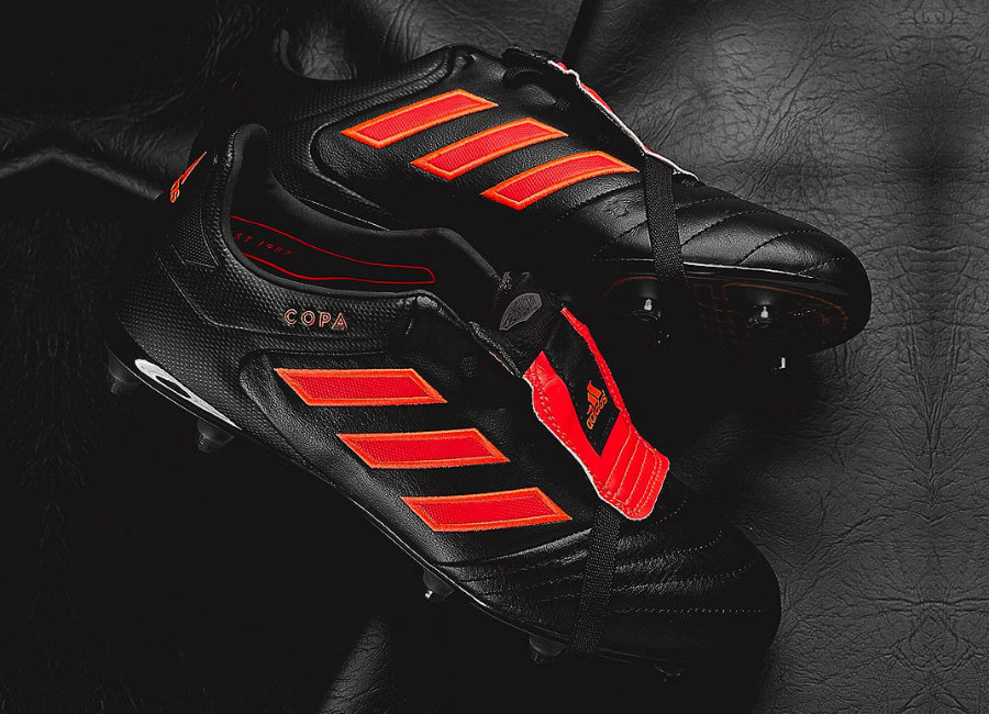 Adidas Copa Gloro 17 FG - Core Black / Solar Red / Solar Red