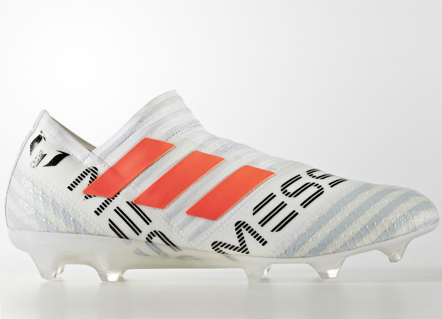 Adidas Nemeziz Messi 17+ 360 Agilität FG Schuhe Weiß / Solar