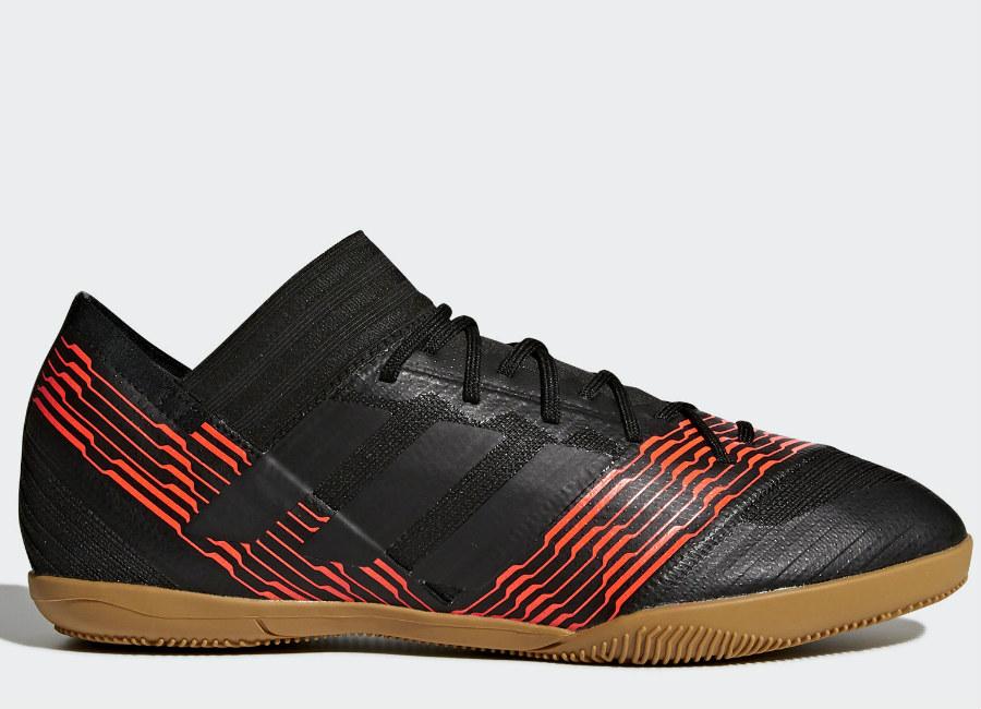 Adidas Nemeziz Tango 17.3 Skystalker Indoor Boots - Core Black / Core Black / Solar Red