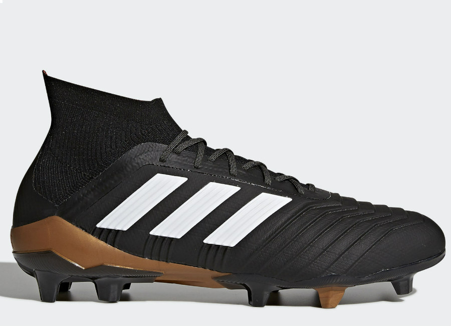 Adidas Predator 18.1 FG - Core Black / Ftwr White / Solar Red