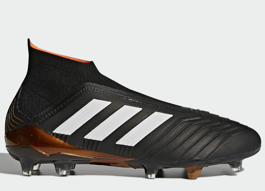 Adidas Predator 18+ FG - Core Black / Ftwr White / Solar Red