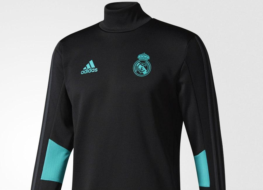 e6c751169 Adidas Real Madrid Training Top - Black   Aero Reef