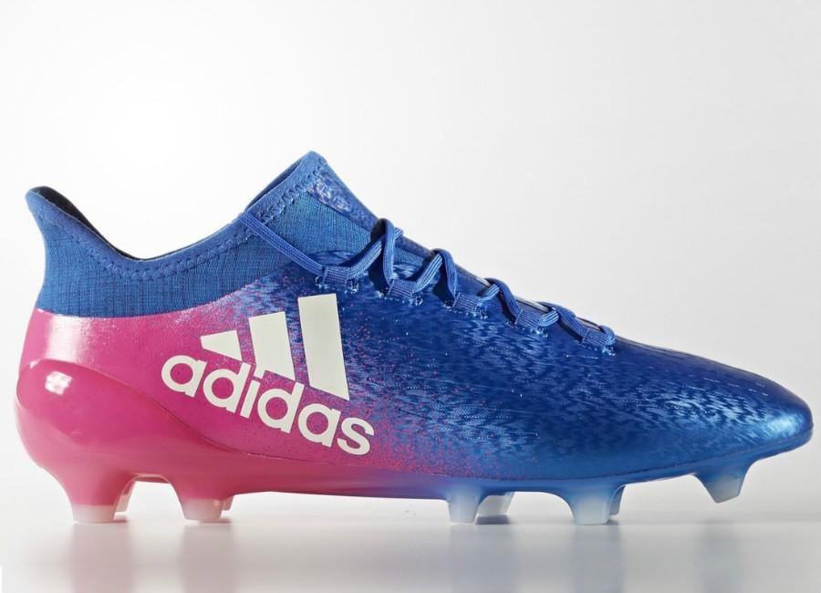 Adidas X 16 1 Firm Ground Boots Blue Blast Blue Footwear White Shock Pink