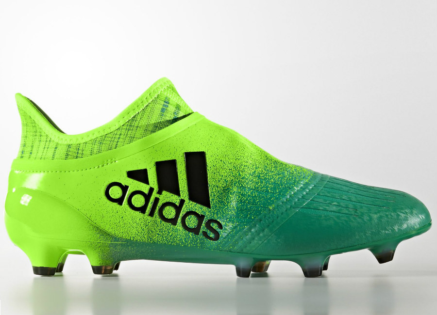 first rate 63aea 5c939 Adidas X 16 Purechaos Turbocharge Firm Ground Boots Solar Green Core Black  Core Green