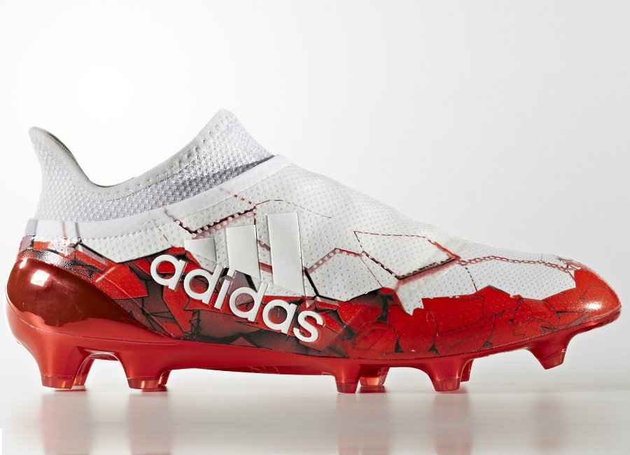 Adidas X 16 Purespeed Fifa Confederations Cup Fg Footwear White Solar Red