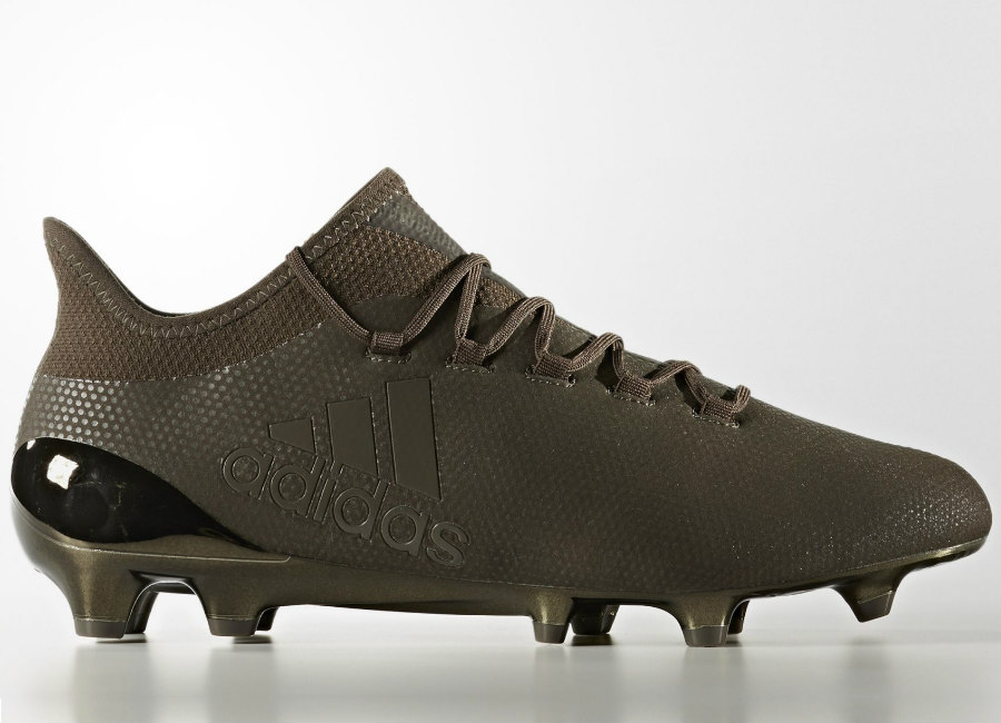 Adidas X 17 1 Pure Stealth Firm Ground Boots Core Black Trace Olive