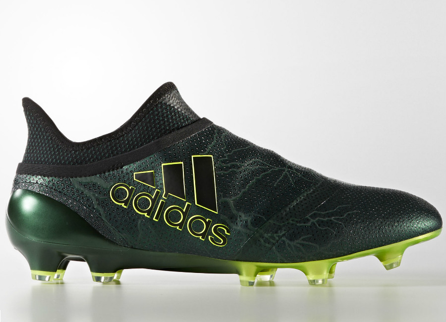 Adidas X 17 Purespeed Fg Core Black Core Black Solar Yellow