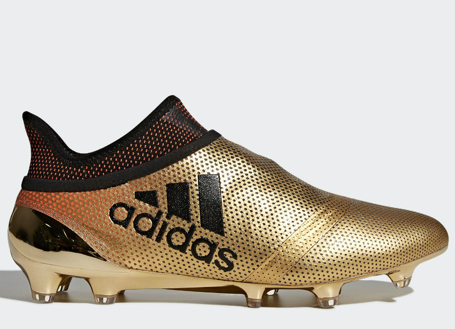 Adidas X 17+ Purespeed FG Skystalker - Tactile Gold Met / Core Black / Solar Red