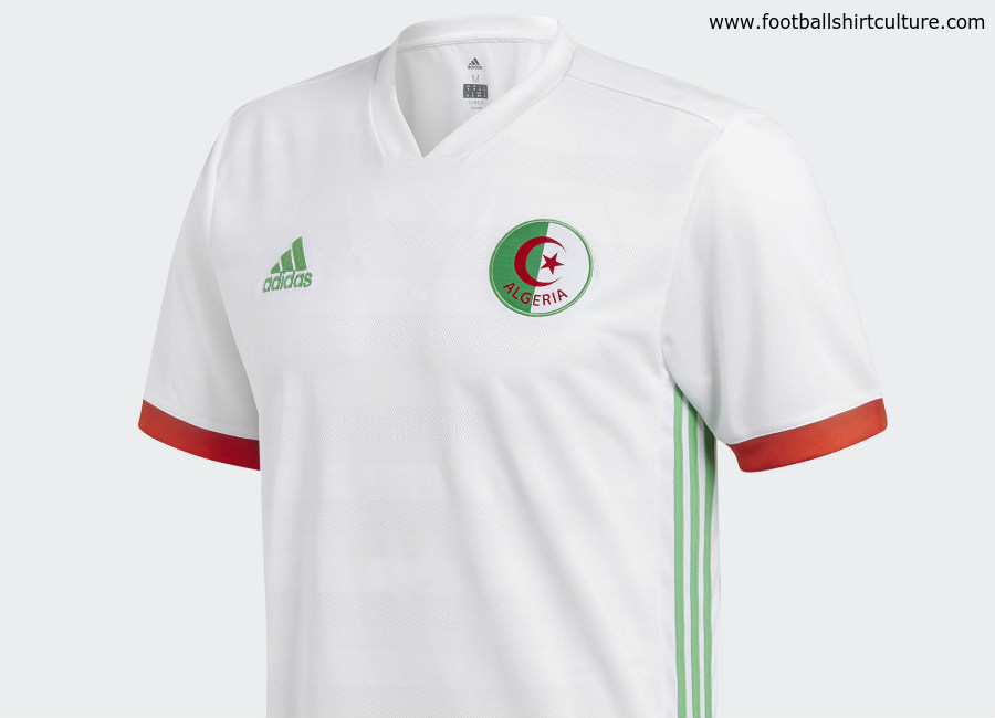 Algeria 2018 Adidas Home Kit