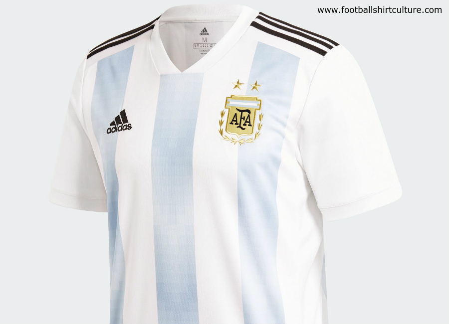 Argentina 2018 World Cup Adidas Home Kit