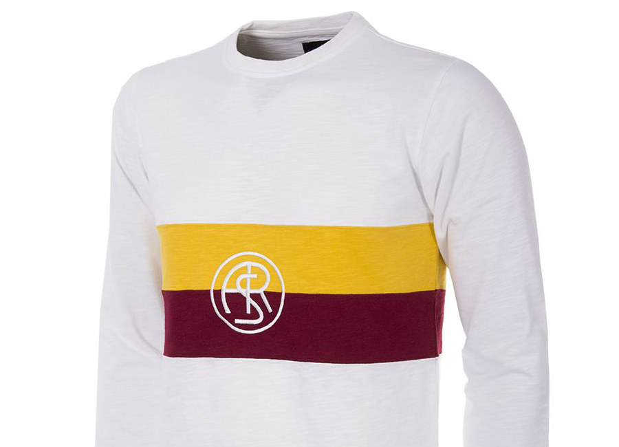 As Roma 1944 45 Copa Away Home Retro Football Shirt