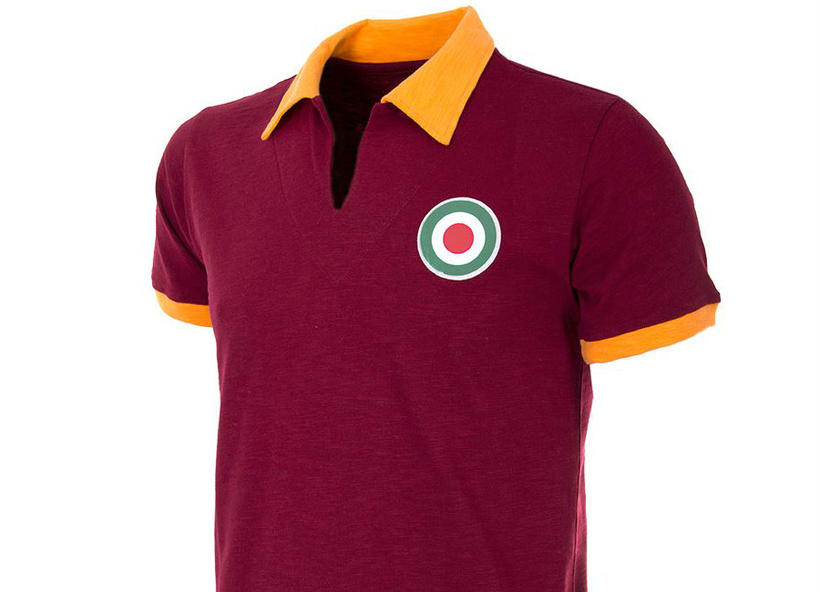 As Roma 1964 65 Copa Retro Football Shirt