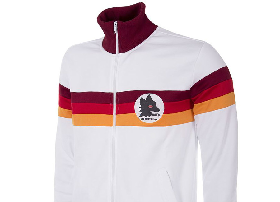 As Roma 1981 82 Copa Away Retro Football Jacket