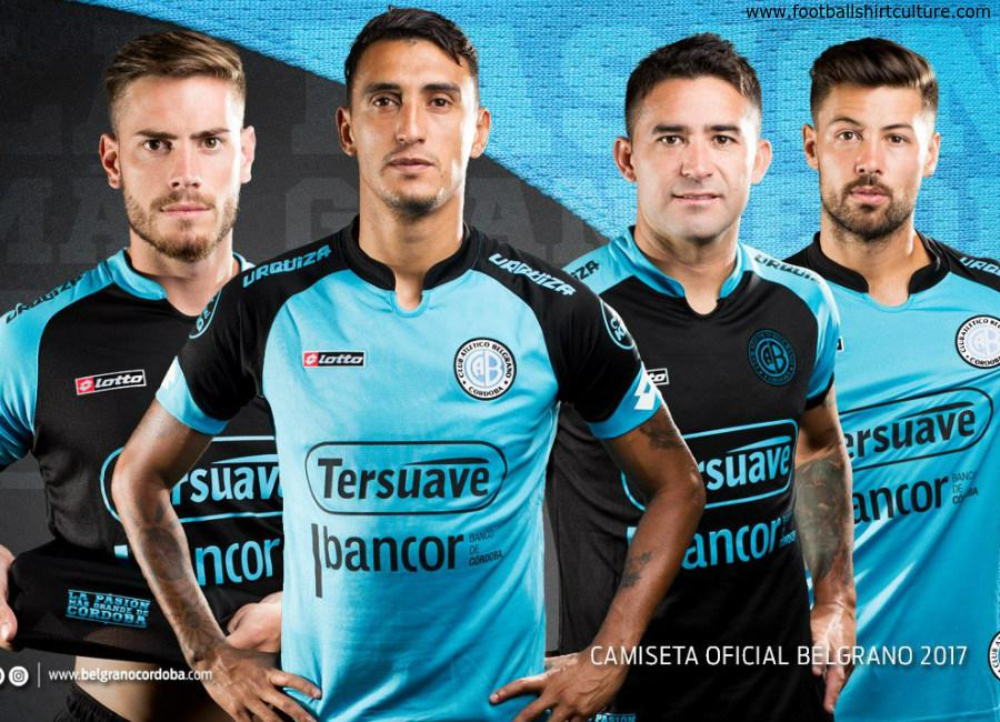 Atletico Belgrano 2017 Lotto Home Away Kits