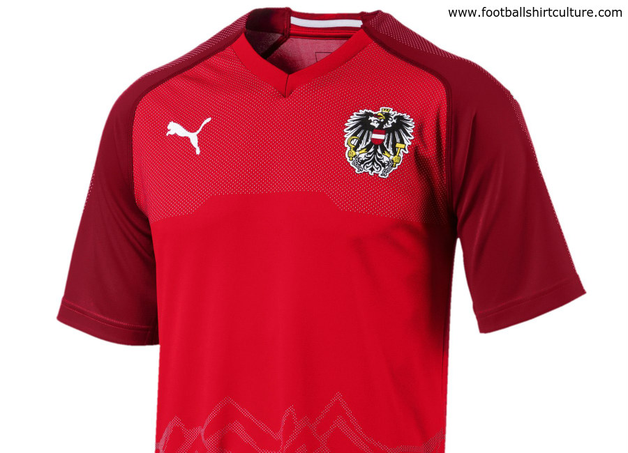 Austria 2018 Puma Home Kit