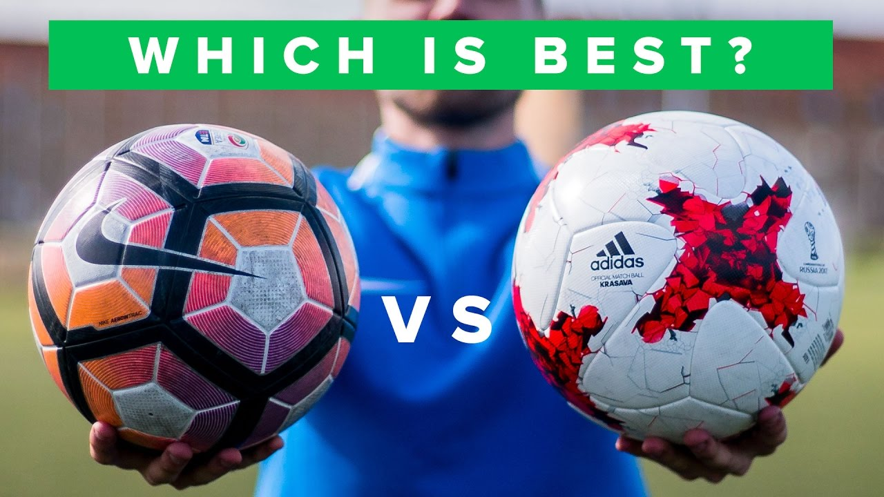 Ball Review 2017 - Nike Ordem 4 - Adidas Krasava - Select Brillant Super