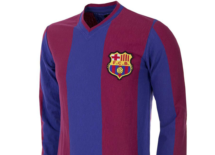 Barcelona 1916-17 Copa Home Retro Football Shirt