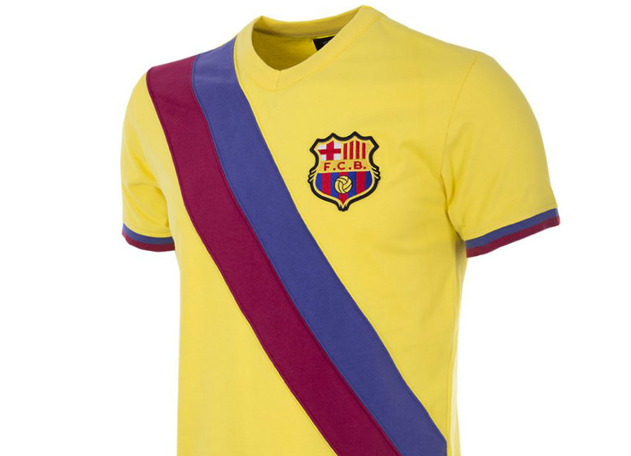 Barcelona 1978-79 Copa Away Retro Football Shirt