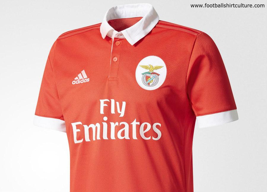 pretty nice 8cbc5 bca26 Benfica 2017-18 Adidas Home Kit | 17/18 Kits | Football ...