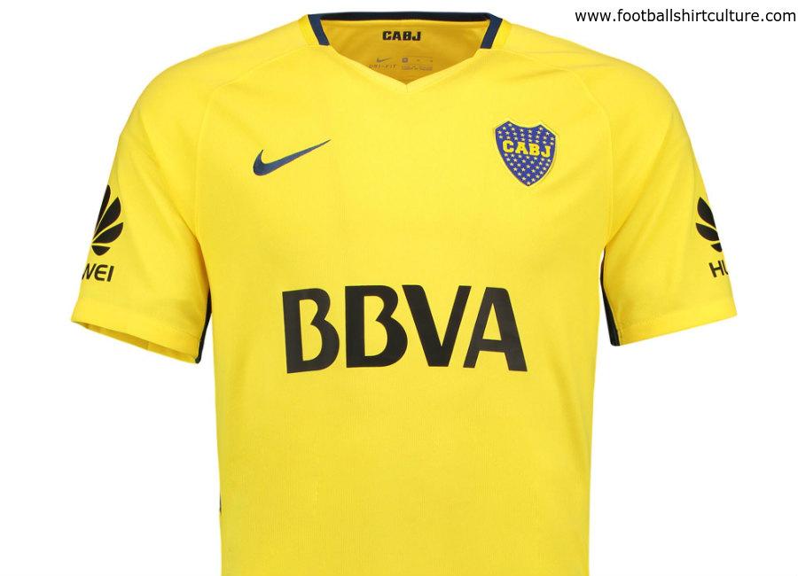 79d999c8253 Boca Juniors 17 18 Nike Away Kit