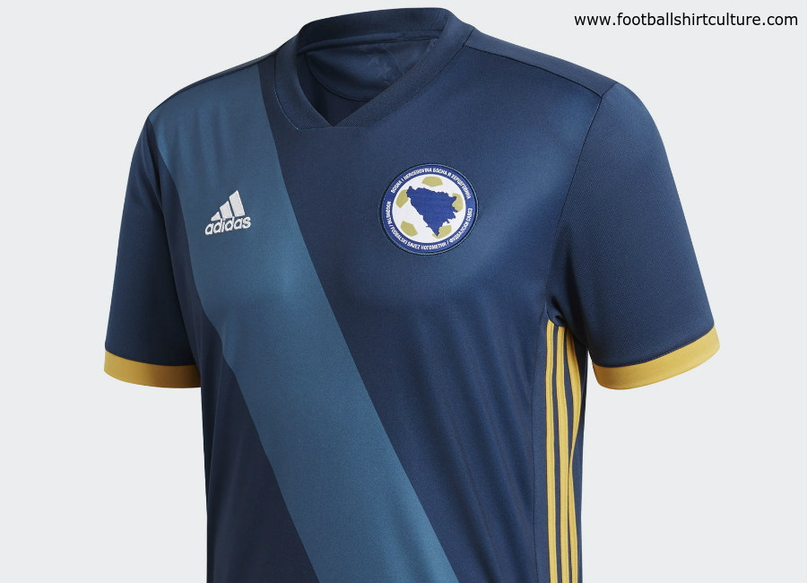 Bosnia & Herzegovina 2018 Adidas Home Kit