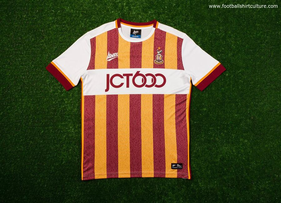 Bradford City 16 17 Avec Fourth Shirt