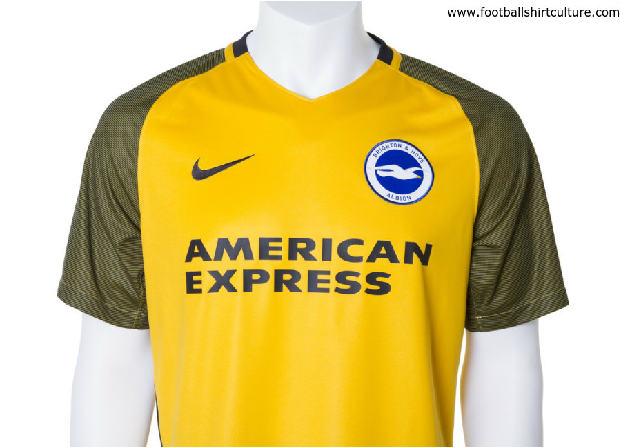 83c2cbd9ab0 Brighton   Hove Albion 17 18 Nike Away Kit