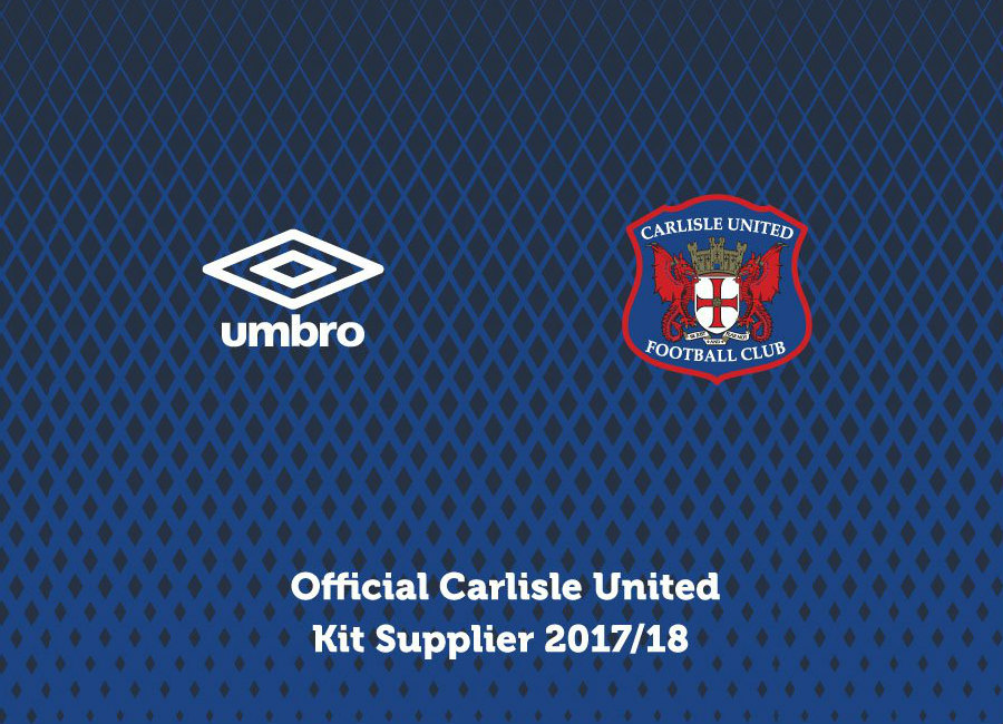 Carlisle United Announce Umbro Kit Deal
