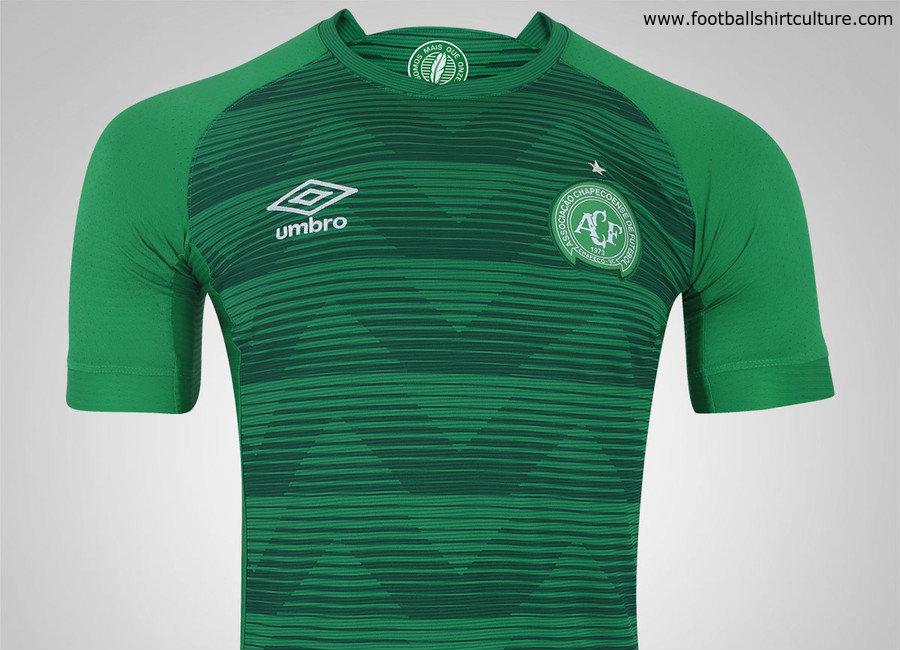 1e4eef728af Chapecoense 2017 Umbro Home Shirt | 17/18 Kits | Football shirt blog
