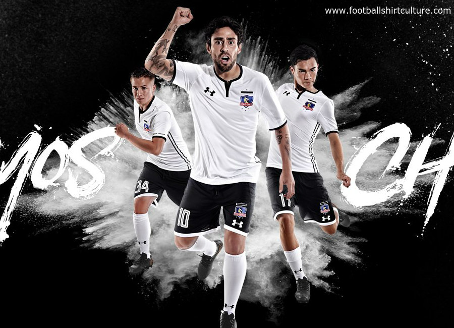 on sale 6d822 87fcb Colo-Colo 2018 Under Armour Home Kit | 17/18 Kits | Football ...