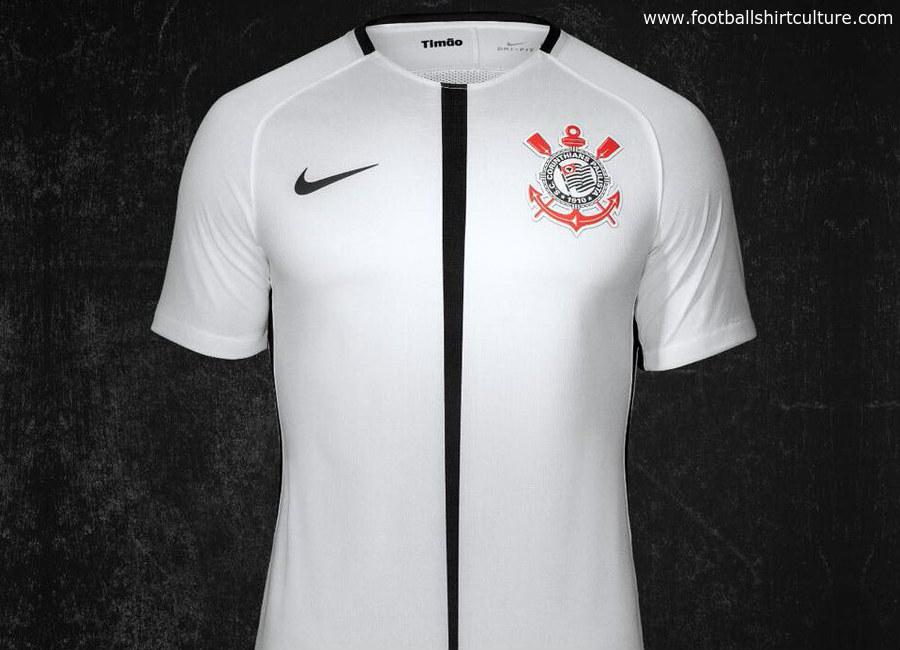 ad0c61fba52 Corinthians 2017 Nike Home Kit   17/18 Kits   Football shirt blog