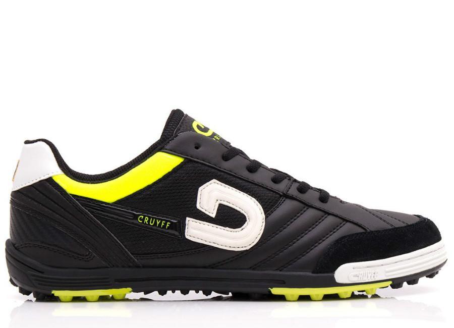 9c0e7132c0e1 Cruyff Court - Black / Fluo Yellow / White
