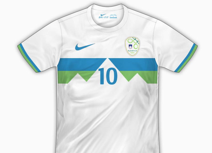 Df Concept Slovenia Home Shirt By Fenton