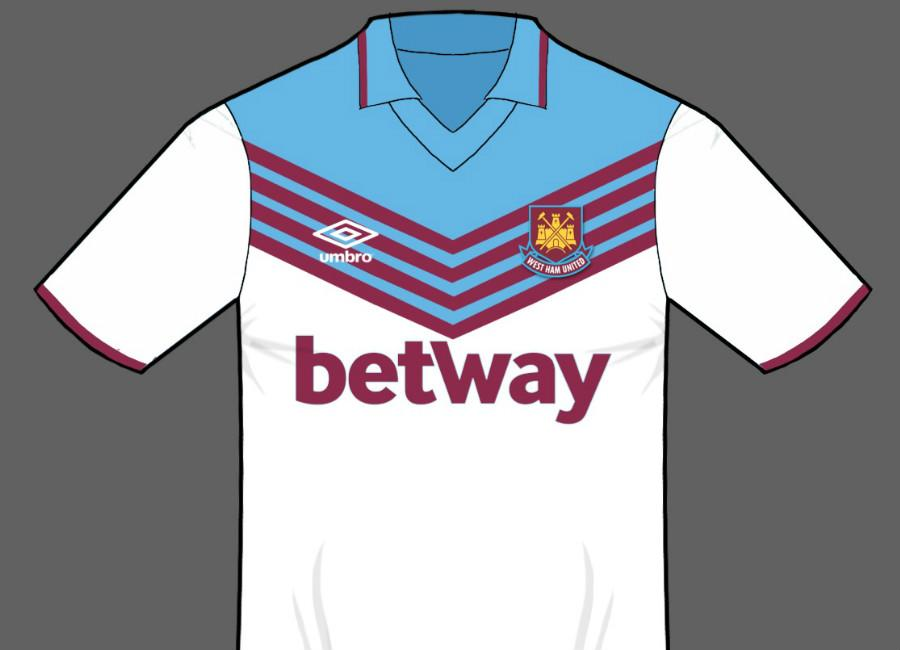 Df Concept West Ham United Away Kit By Bp