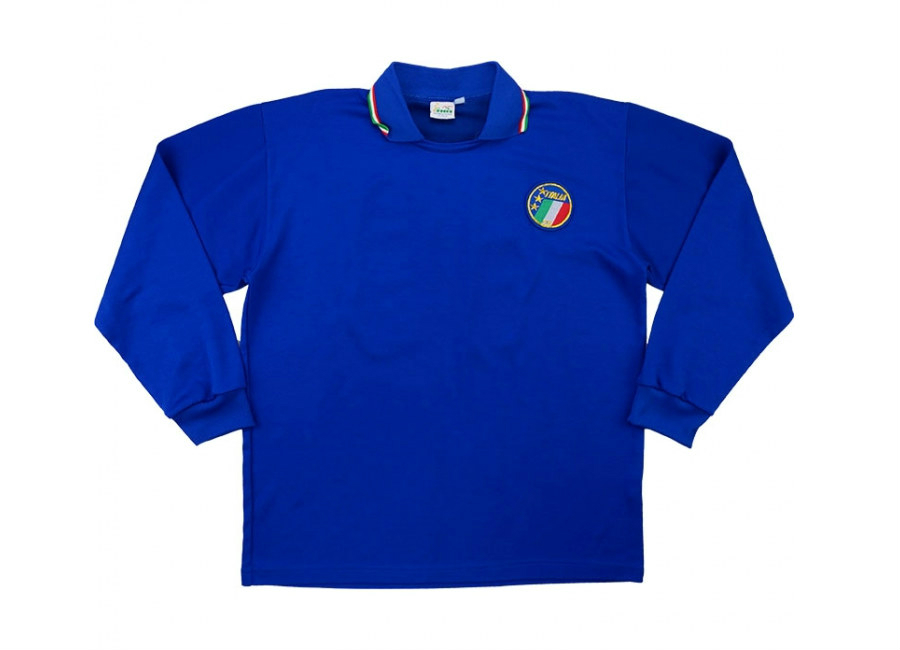 Diadora 1990 Italy Match Issue Home Shirt 10