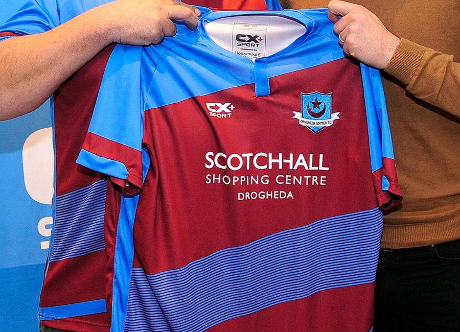Drogheda United 2018 CX+ Sport Home Shirt