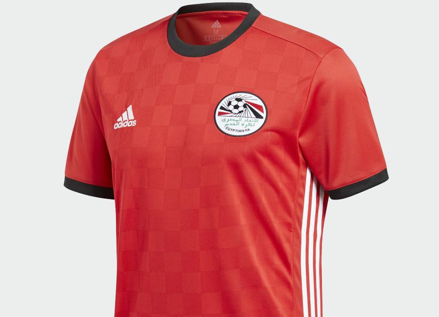 Egypt 2018 World Cup Adidas Home Kit | 17/18 Kits | Football shirt ...