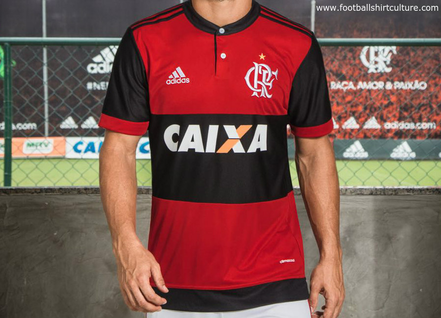 3aa5175a03 Flamengo 2017 Adidas Home Kit