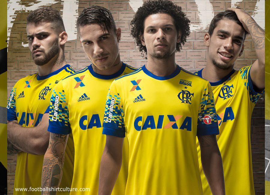 a7886f5781b Flamengo 2017 Adidas Third Kit