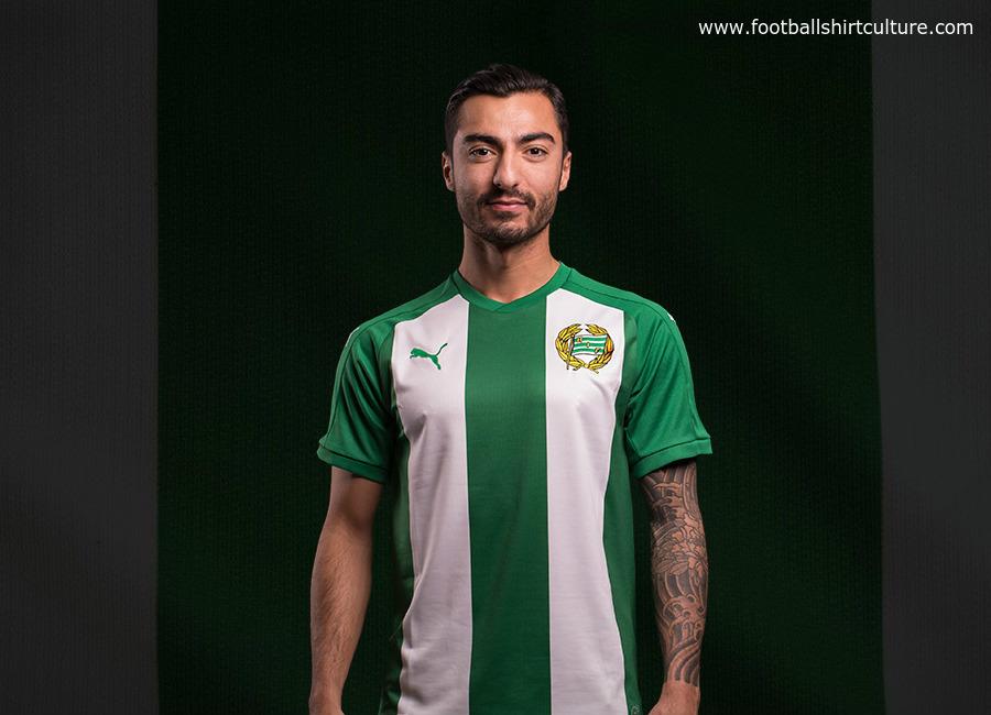 Hammarby 2017 Puma Home Kit 17 18 Kits Football Shirt Blog