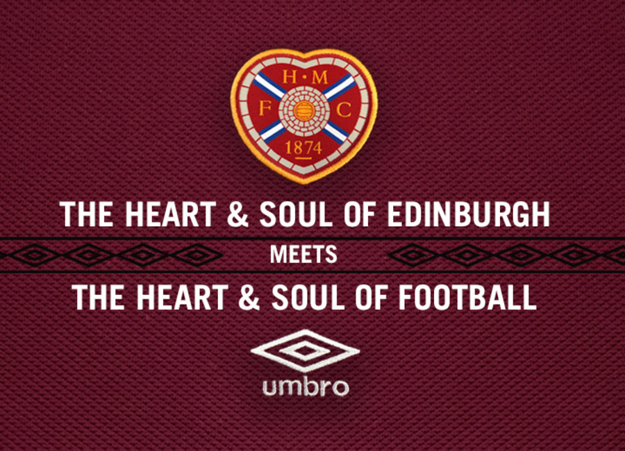Hearts Announce Umbro Kit Deal