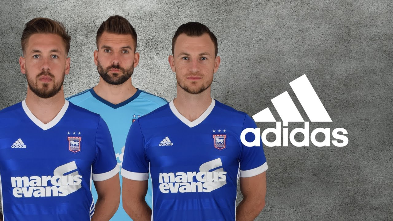 Ipswich Town 17/18 Home Kit Reveal