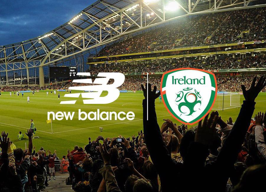 Ireland Announce New Balance Kit Deal