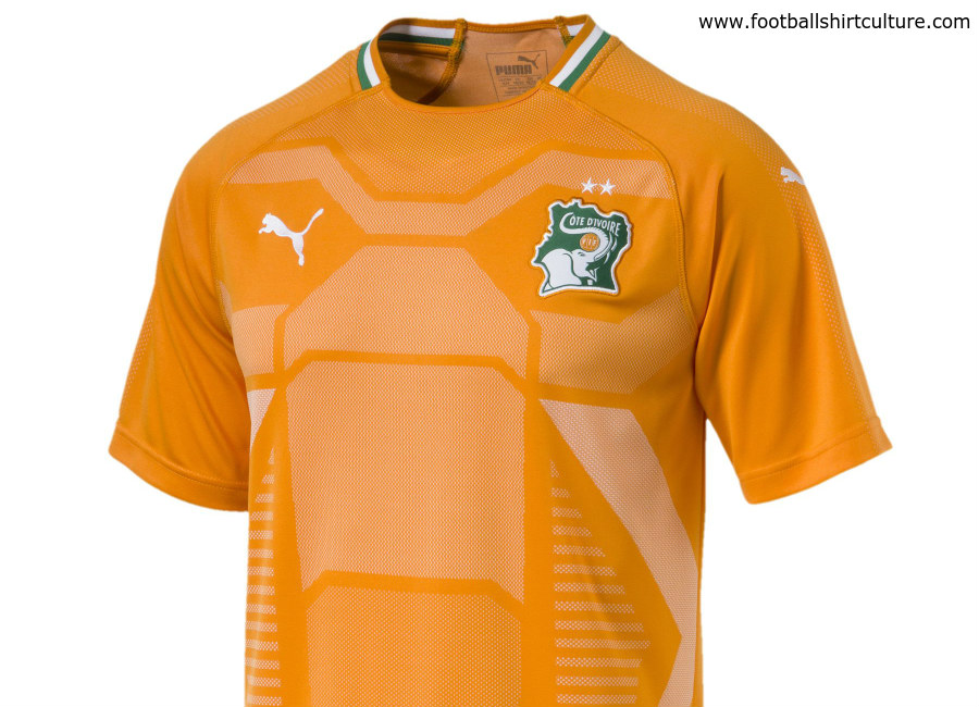 Ivory Coast 2018 Puma Home Shirt
