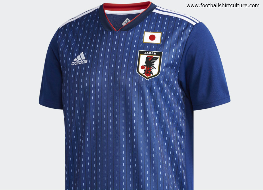 Japan 2018 World Cup Adidas Home Kit