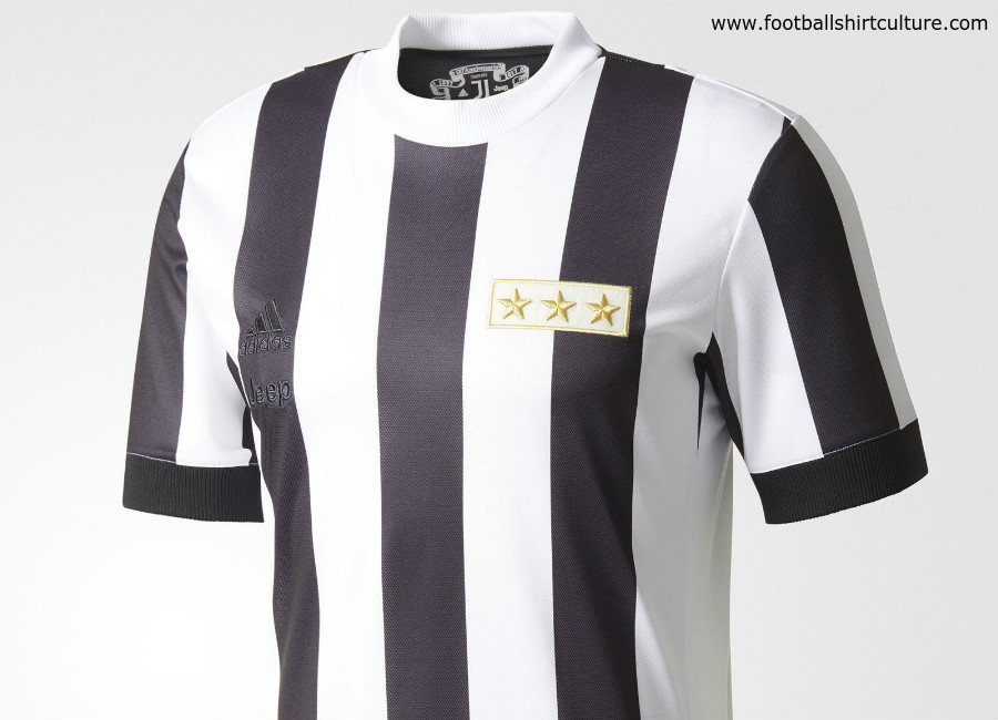 Juventus 120th anniversary Adidas Home Shirt